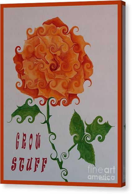 Grow Stuff Canvas Print
