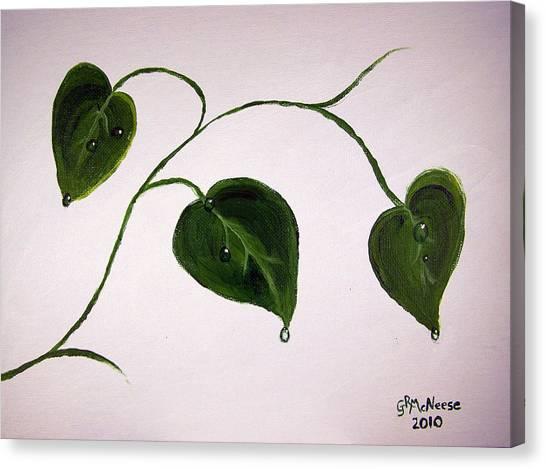 Growing Like Crazy Canvas Print by Georgie McNeese