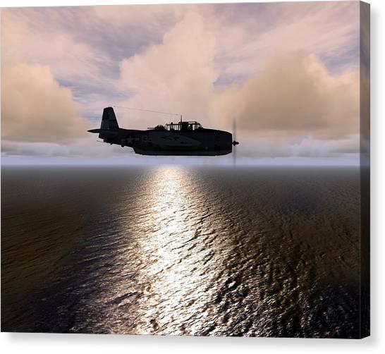 Grumman Tbf 01 Canvas Print