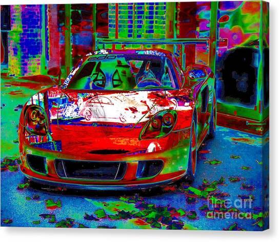 Gt Porsche Carrera Canvas Print
