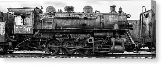 Trainspotting Canvas Print - Gtw 8380 by Enzwell