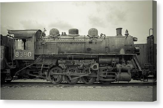 Trainspotting Canvas Print - Gtw 8380 - Vintage by Enzwell