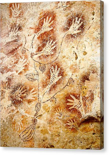 Gua Tewet - Tree Of Life Canvas Print