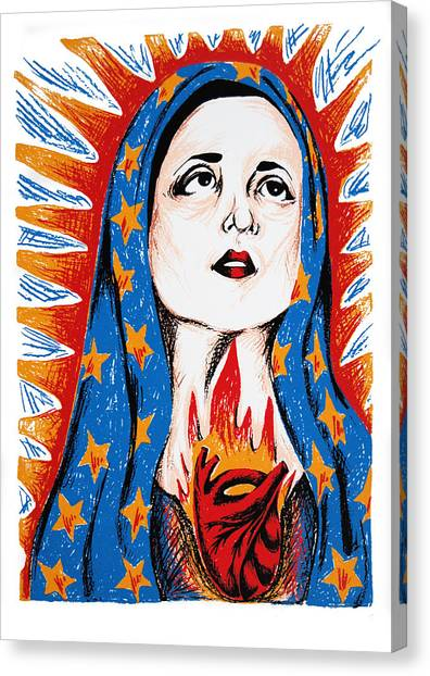 Guadalupe Canvas Print by DeAnn Acton