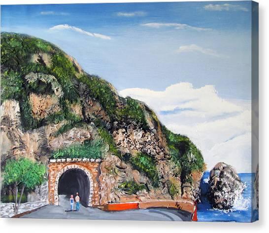 Guajataca Tunnel Canvas Print