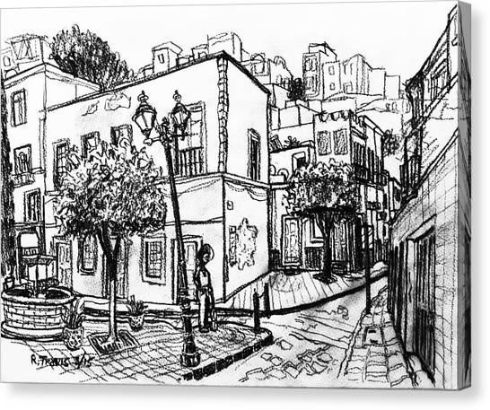 Canvas Print - Guanajuato Street by Rich Travis