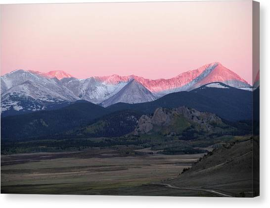 Guanella Sunrise Canvas Print