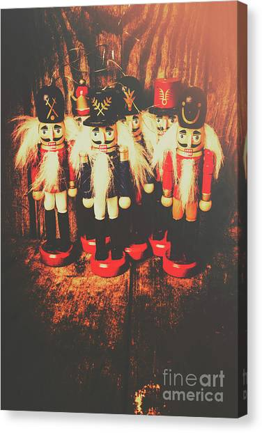 Handcrafted Canvas Print - Guards Of The Toy Box by Jorgo Photography - Wall Art Gallery
