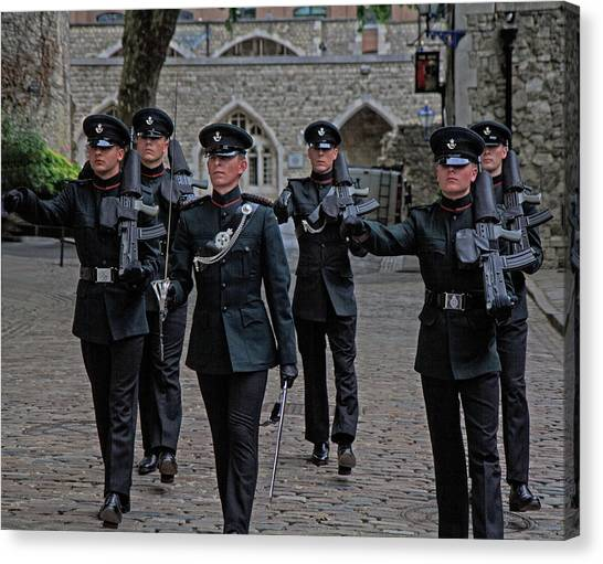 Guards Canvas Print