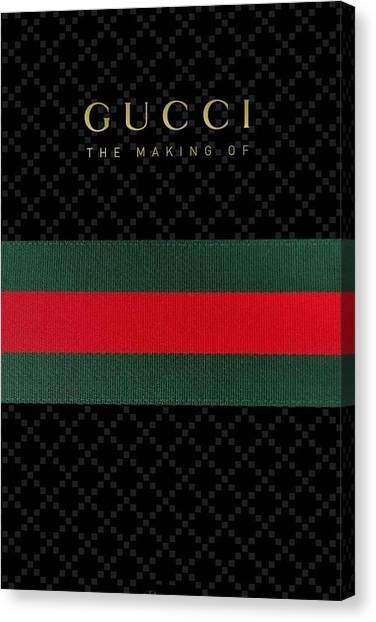Money Canvas Print - Gucci by Aaron De Wulf