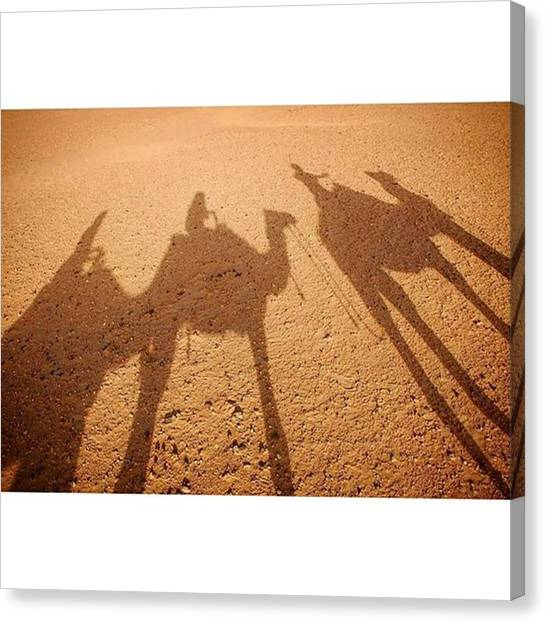 Sahara Desert Canvas Print - Guess What Day It Is! #humpday by Monica Adjemian