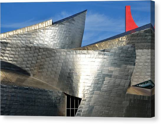 Guggenheim Museum Bilbao - 5 Canvas Print