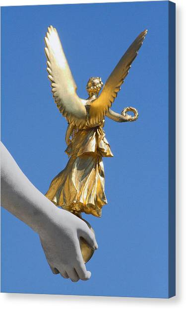 Guided Angel Canvas Print