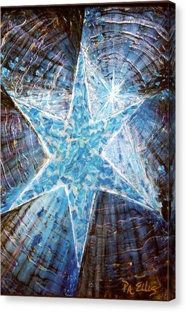 Guiding Light Canvas Print by Pam Ellis
