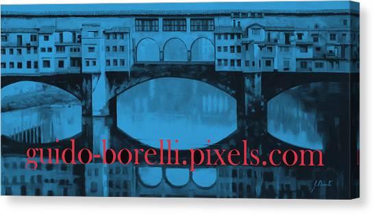 Florence Canvas Print - Guido-borelli.pixels.com by Guido Borelli