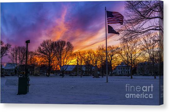 Guilford, Connecticut. Canvas Print