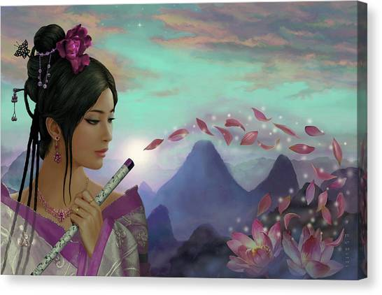 Sightseeing Canvas Print - Guilin Beauty by Reb Benno
