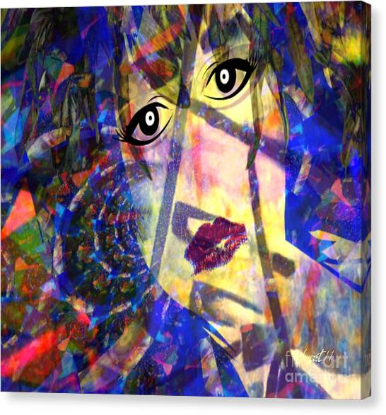 Voix Canvas Print - Guilty At Birth by Fania Simon