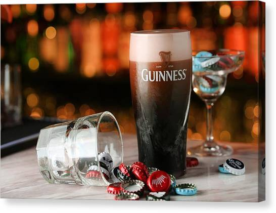 Lager Canvas Print - Guinness by Super Lovely