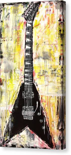 Flying V Guitar Canvas Prints (Page #3 of 3) | Fine Art America