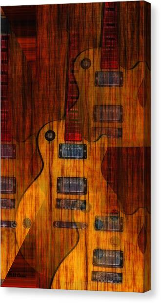 Stratocasters Canvas Print - Guitar Army by Bill Cannon