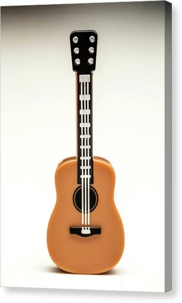 Acoustic Guitars Canvas Print - Guitar by Samuel Whitton