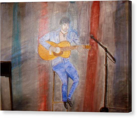 Guitarrist Canvas Print