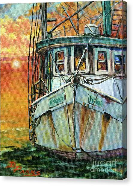 Gulf Coast Shrimper Canvas Print