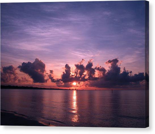 Gulf Coast Sunrise Canvas Print