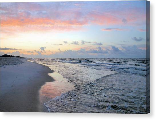 Gulf Shore Canvas Print