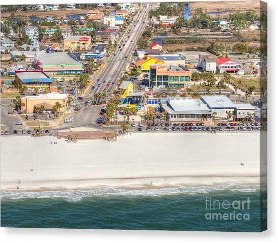 Gulf Shores - Hwy 59 Canvas Print