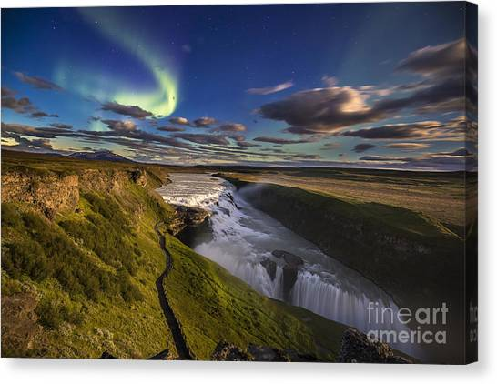 Gullfoss Iceland Canvas Print