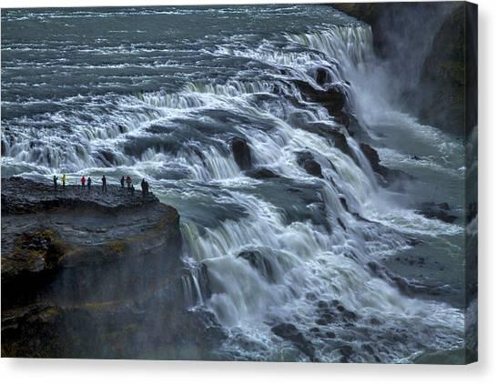 Gullfoss Waterfall #6 - Iceland Canvas Print