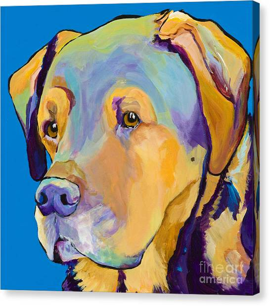 Mastiffs Canvas Print - Gunner by Pat Saunders-White