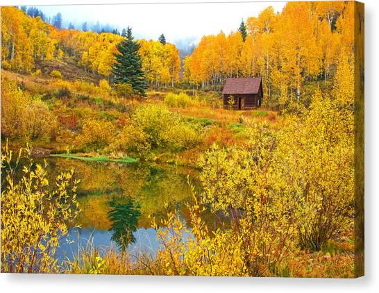 Gunnison Reflection  Canvas Print
