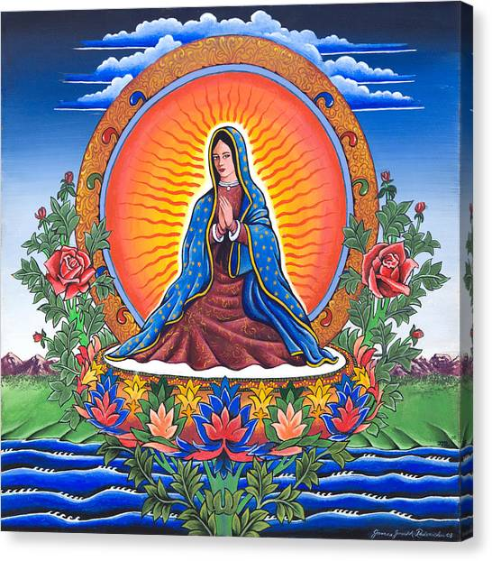 Guru Guadalupe Canvas Print