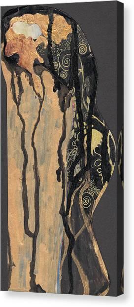 Gustav Klimt's Tears Canvas Print