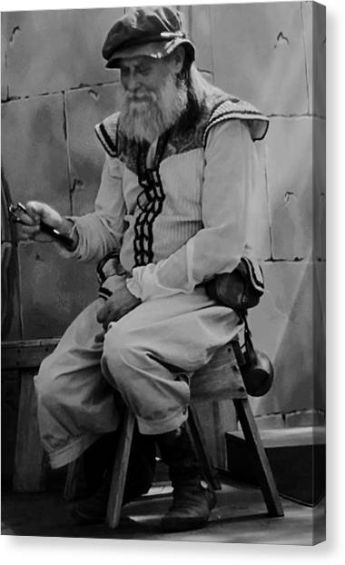 Gypsy Elder Canvas Print