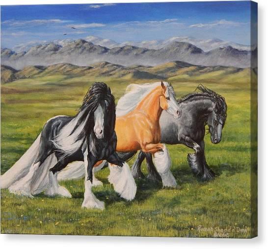 Gypsy Medley Canvas Print
