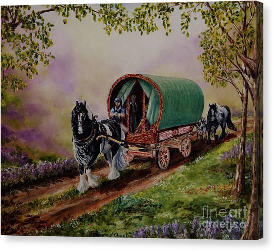 Gypsy Road Canvas Print