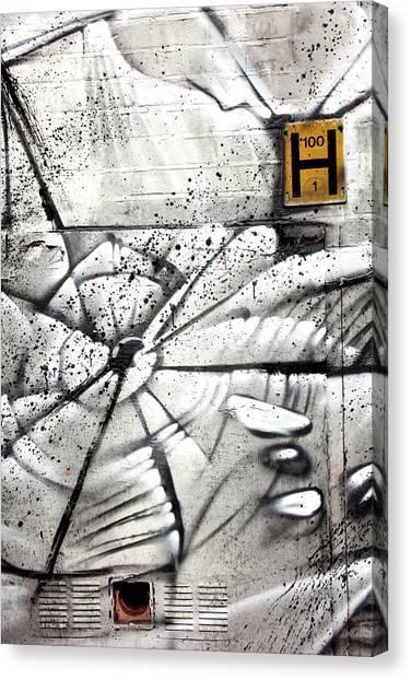 H Street Canvas Print by Jez C Self