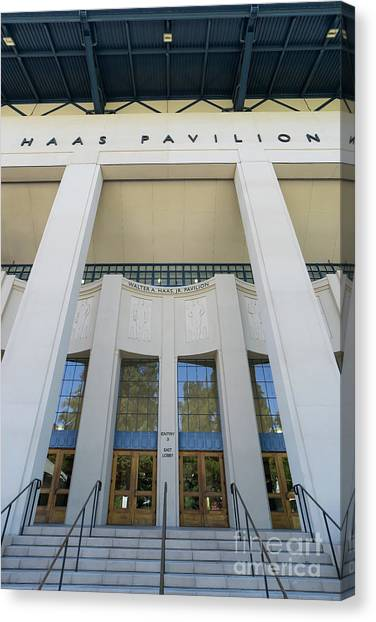 Haas Pavilion At University Of California Berkeley Dsc6304 Canvas Print