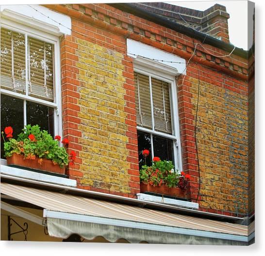 Hackney Row Canvas Print by JAMART Photography
