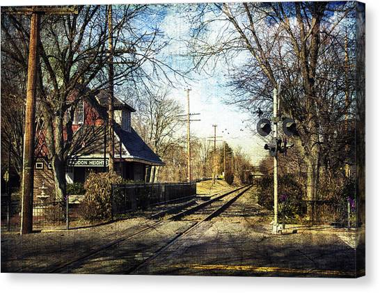 Haddon Heights Train Station Canvas Print