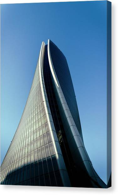 Hadid Tower, Milan, Italy Canvas Print