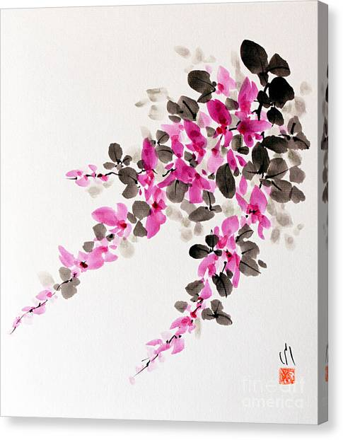 Hagi / Bush Clover Canvas Print