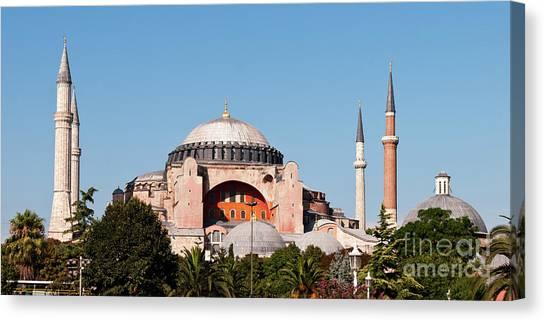 Canvas Print - Hagia Sophia Blue Sky 03 by Rick Piper Photography