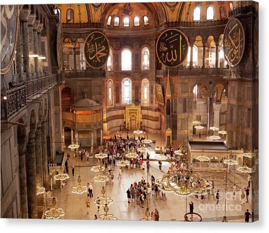 Canvas Print - Hagia Sophia Interior 09 by Rick Piper Photography