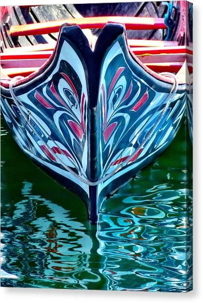 Haida Canoe Canvas Print