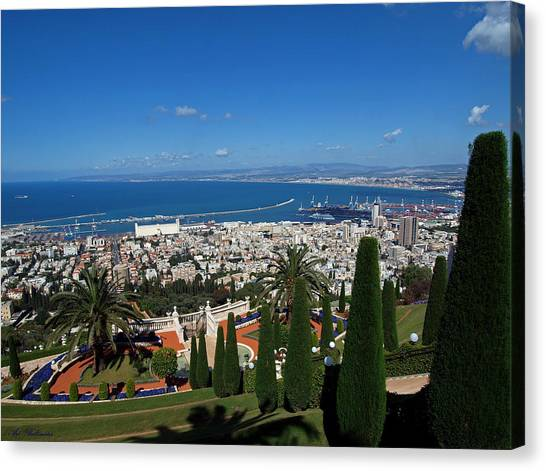 Haifa Bay 2 Canvas Print